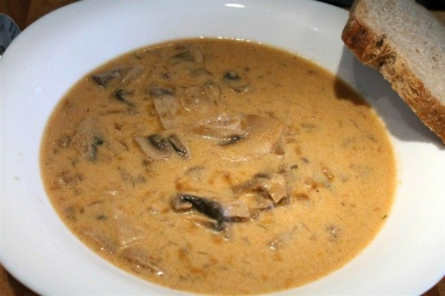 Arany gombakrémleves (Goldn Mushroom Soup)