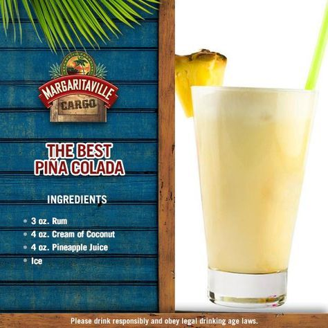 Is it the best Piña Colada just because or is it because it was made with love by your trusty Margaritaville® Frozen Concoction Maker®? You decide wink emoticon #FinsUp