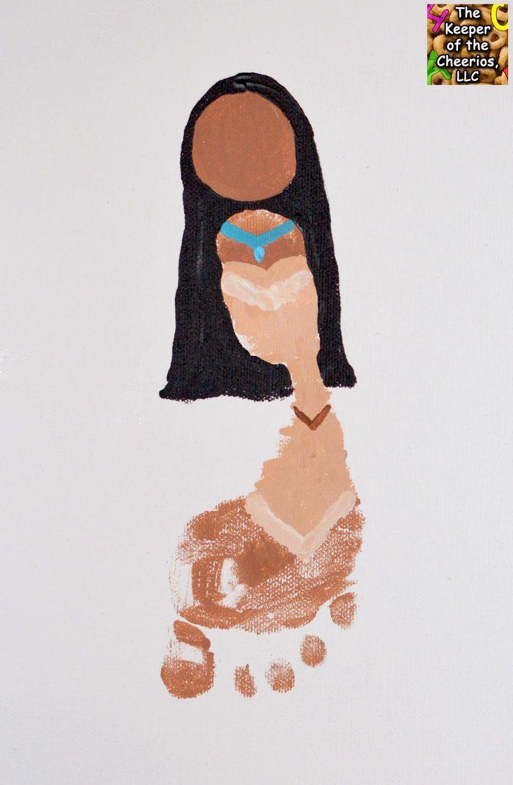 The Keeper of the Cheerios: Princess Footprints Mulan and Pocahontas