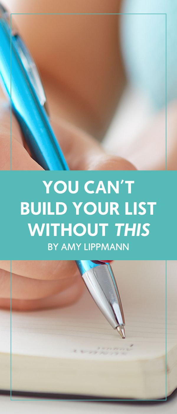 You Can't Build Your List Without *This* - The Wellness Business Hub