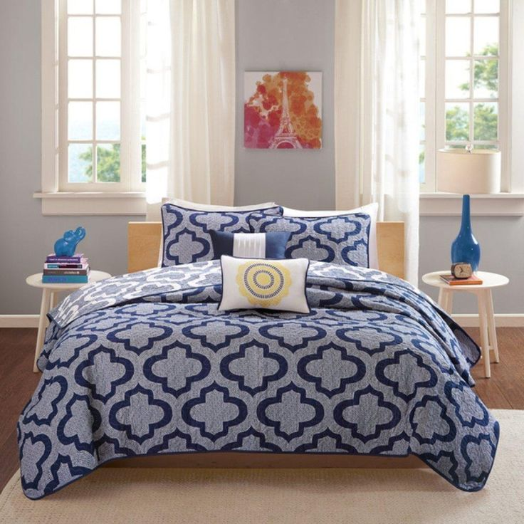 Art For Grey Bedroom Nautical Themed Bedroom Accessories Bedroom Colors For Teenage Girls Blue Themed Bedroom Ideas: Best 25+ Navy Blue Comforter Ideas On Pinterest