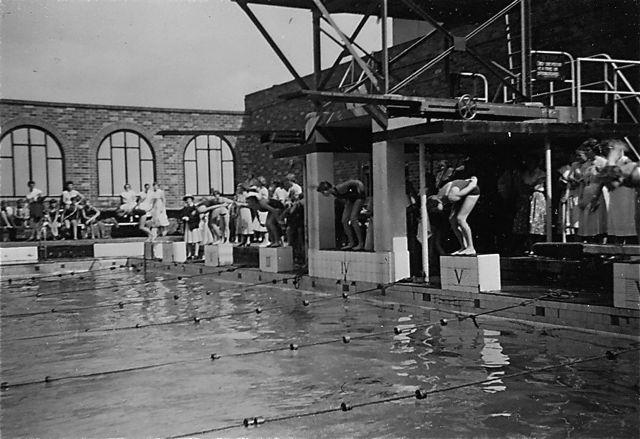 North Sydney Olympic Pool 1958