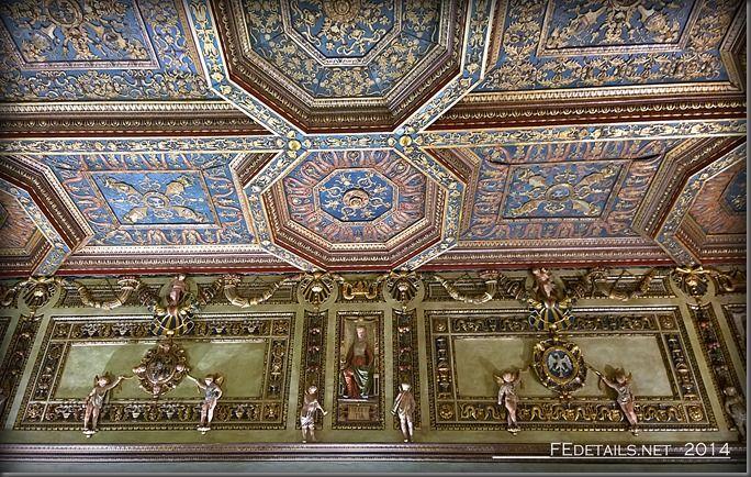 Palazzo Schifanoia, La Sala degli Stucchi, Foto3 - Property and copyrights of (c) FEdetails.net 2014