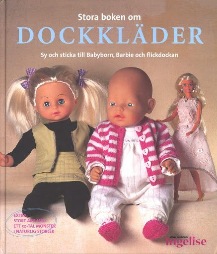 Free Doll Clothes Pattern Book