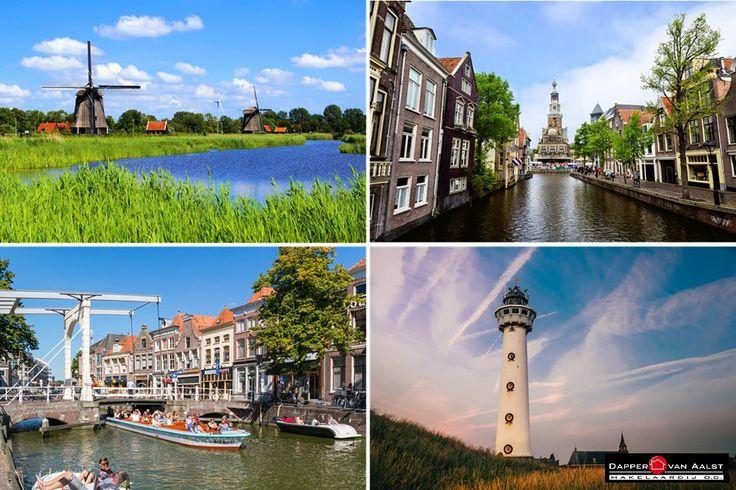 Voorjaar in Alkmaar Gezellige terrasjes, mooie grachtjes, dichtbij de kust en voldoende groen en natuur om heerlijk te relaxen. Wil jij ook graag in Alkmaar wonen? Kijk eens bij ons woningaanbod op de website: http://www.makelaar-alkmaar-dapper-vanaalst.nl/