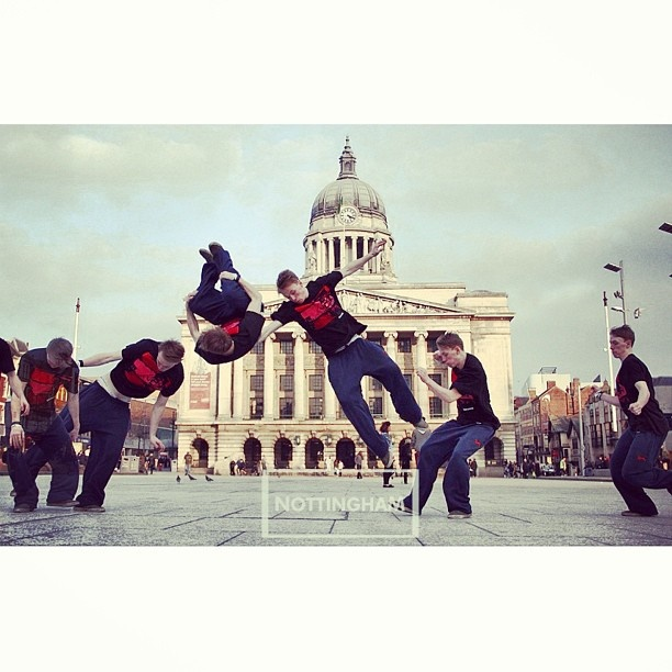 Urban Revolution - Photography by @willjcarman - #brooklynbridge #tee #tshirt #menswear #clothing #apparel #fashion #fashiongivesback #barnabas #barnabasclothing #parkour #uk #nottingham #sport