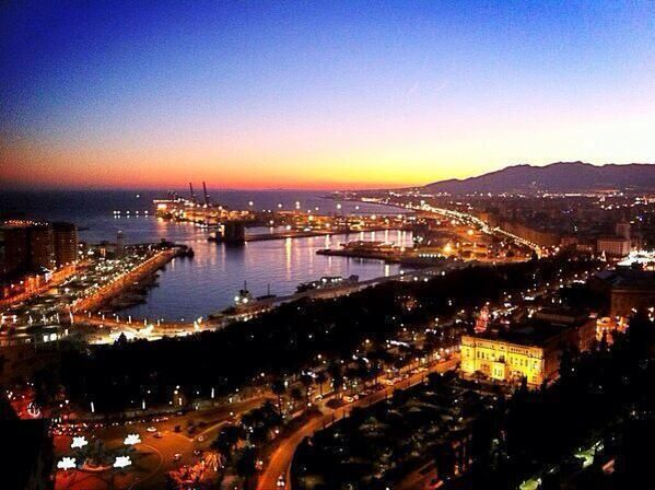 One of the most beautiful cities in Spain - Malaga