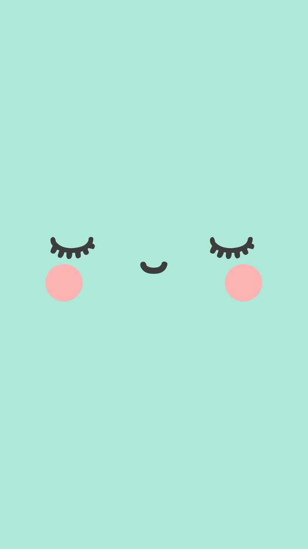 236 best cute wallpaper images on pinterest backgrounds - Kawaii phone backgrounds ...