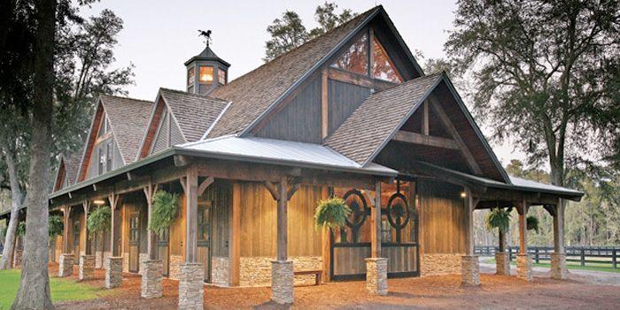 Extra Fancy Horse Barn Farm Life Pinterest Gardens