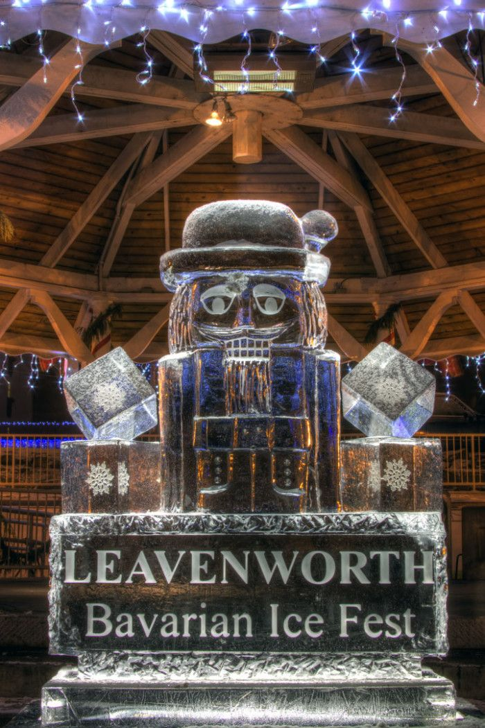 Things everyone must do in WA in 2016. January: Bavarian Ice Fest in Leavenworth.