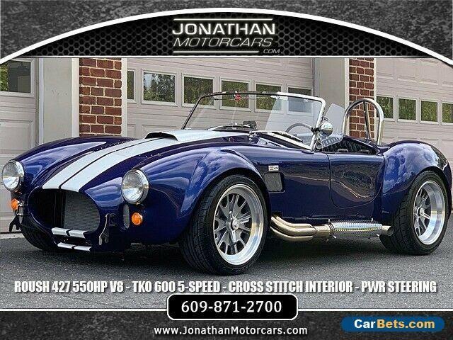 Car For Sale 1965 Shelby Cobra Backdraft Racing Cobra