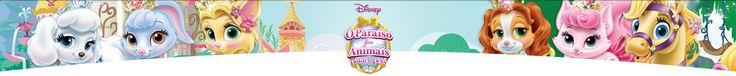 Páginas para colorir e Atividades de O Paraíso dos Animais: Palace Pets – Atividades Disney
