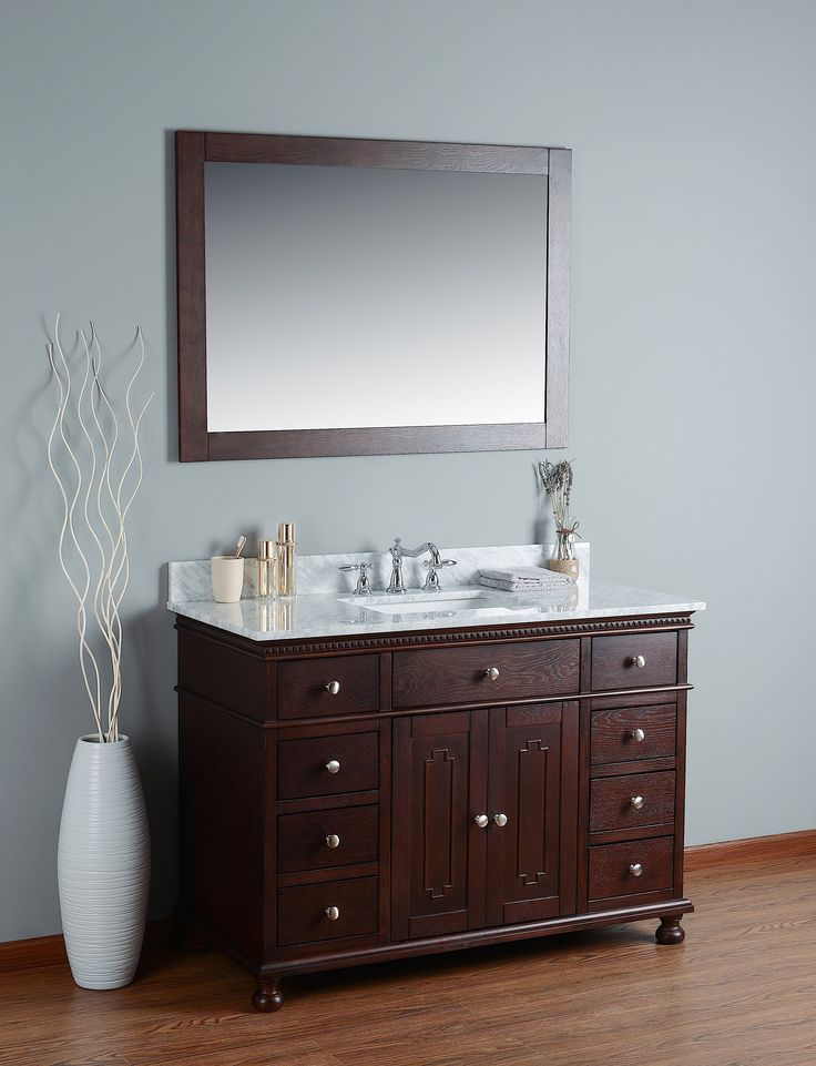 48 Bathroom Vanity With Top: 2357 Best Bathroom Vanities Images On Pinterest