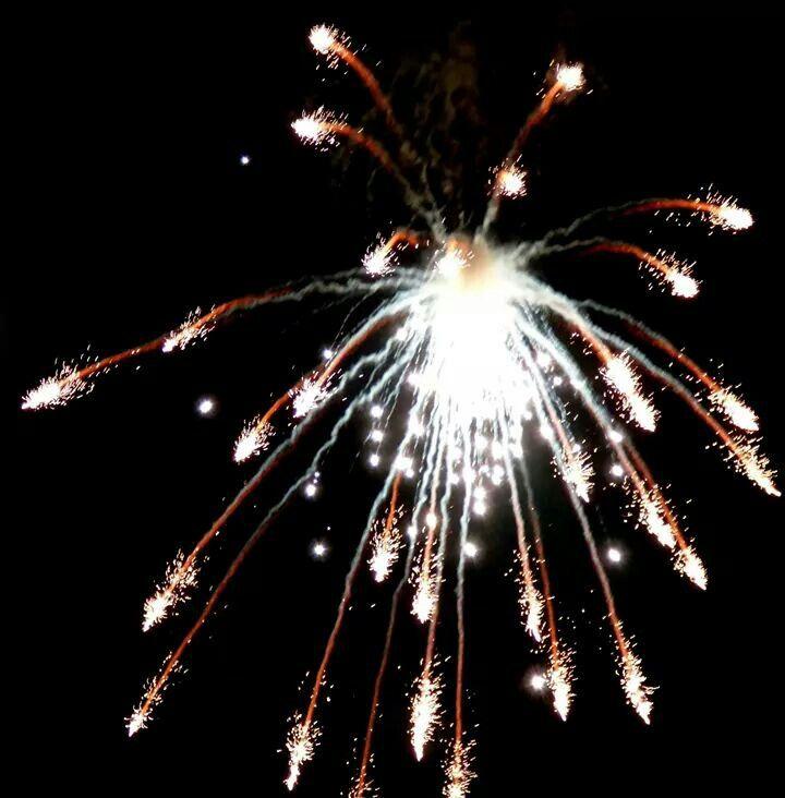 Camelot fireworks display