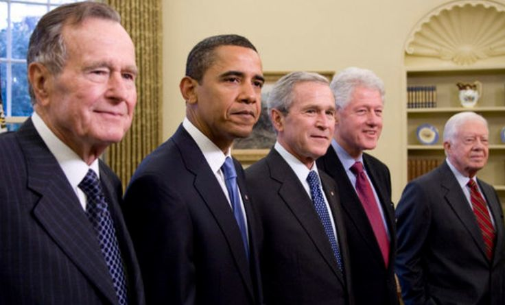 """All Five Living Former Presidents Join Forces To Launch Fundraiser For Puerto Rico Disaster Relief ---All five living former Presidents of the United States have teamed up to launch a joint effort to raise money to help the people of Puerto Rico and the U.S. Virgin Islands recover from Hurricane Maria. The campaign, titled """"One America Appeal,"""" will allow donors to choose between the United for Puerto Rico fund and …"""