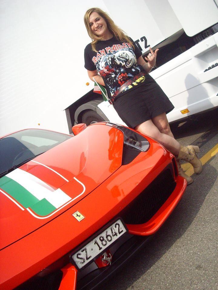 <3 Rubia española + Ferrari = Follón asegurado Monza Speedway 2014 - (Monza, Italia) 28/09/2014