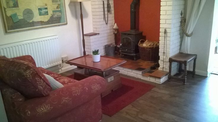 New Karndean flooring in the lounge.