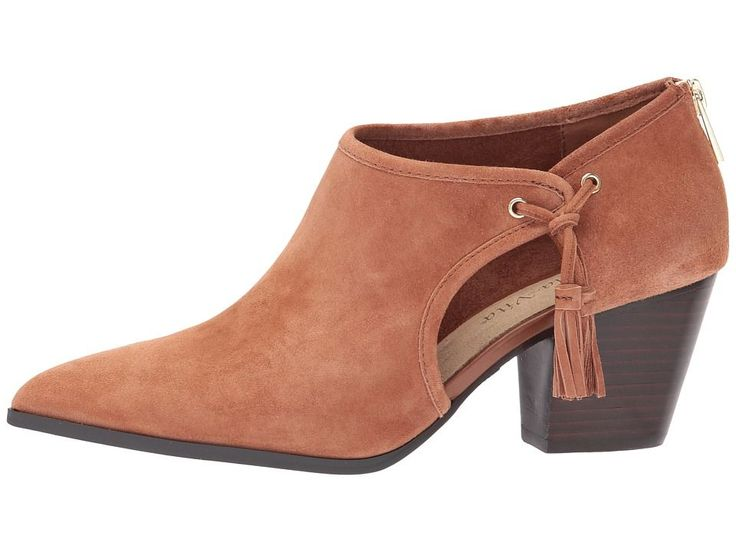 Bella-Vita Eli Women's Boots Dark Tan Kid Suede
