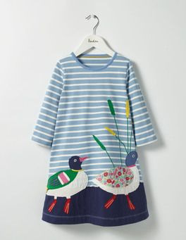 Woodland Friends Dress Boden