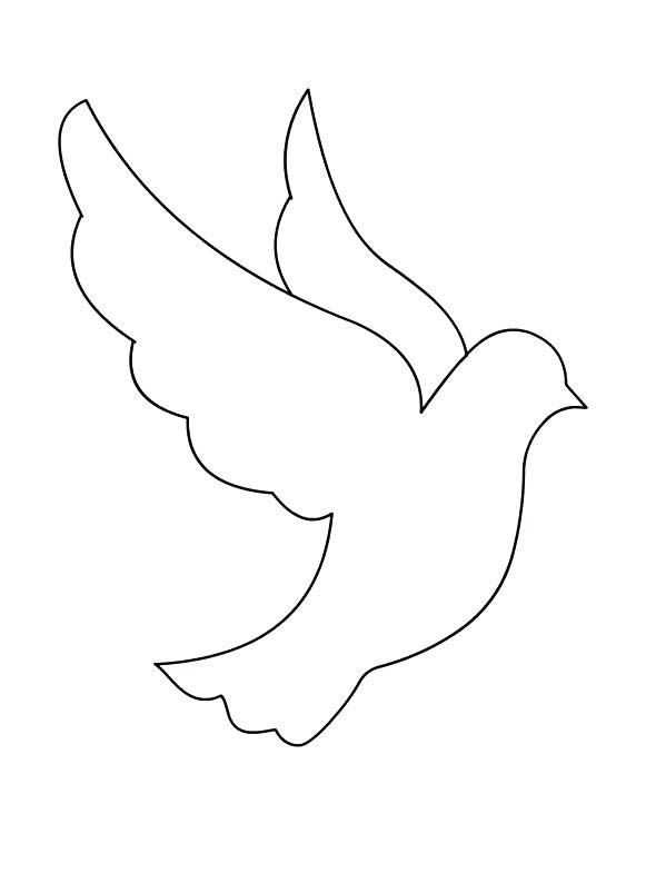 Dove Coloring Pages Best Coloring Pages For Kids Coloring Pages Coloring Pages For Kids Bird Crafts