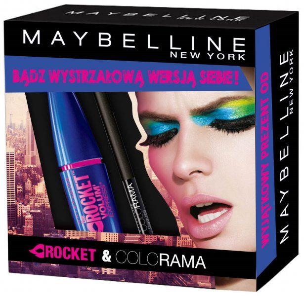 Maybelline Zestaw Rocket Maskara + Kredka do oczu Colorama Black Khol | MALL.PL