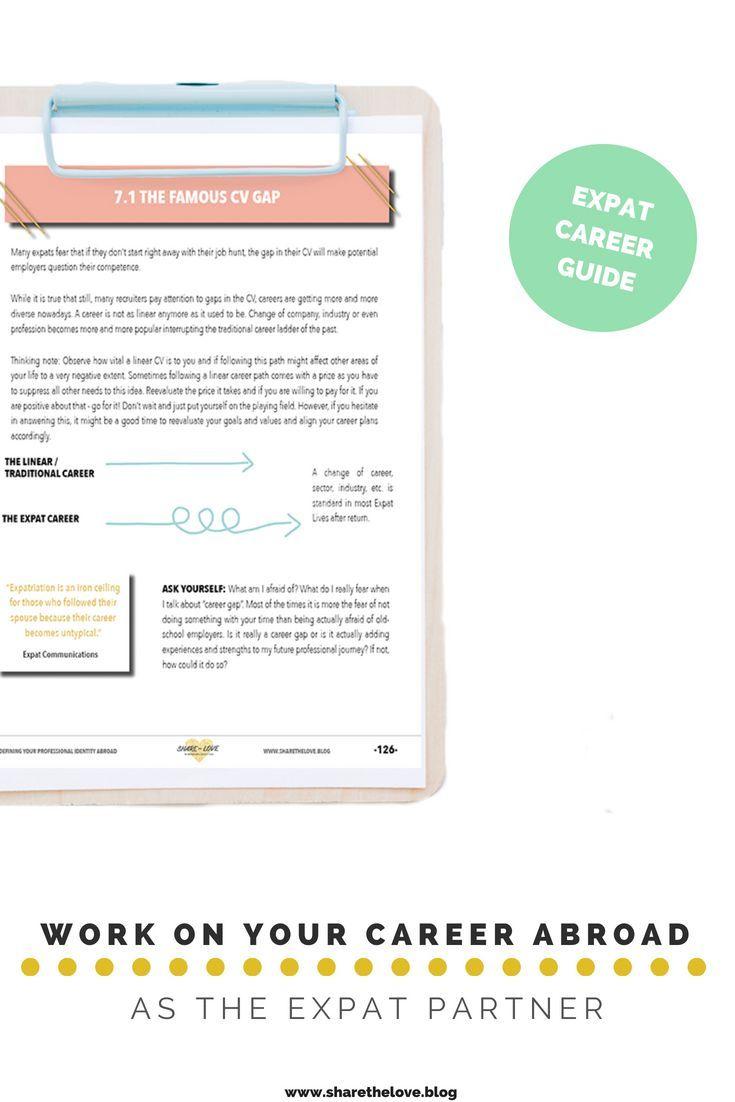 Expat Partner Career Workbook - Find your professional