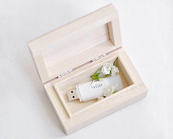 Wedding USB case wedding case wooden Wedding USB case di forCRAFT