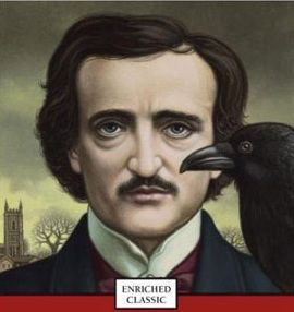 """www.writerssecrets.com """"Quoth the Raven 'NEVERMORE'"""" Our good friend Edgar Allen Poe dropped by today… He was in the gloomiest mood yet, and he's famous for his gloomies. They are dark and impenetrable… no fun at all. The reason he's depressed today is because he wants to invite for dinner and study a Raven who lives in the neighborhood. His objective is to characterize him absolutely right in his next Really Big Poem; the kind it takes a lifetime to write…"""