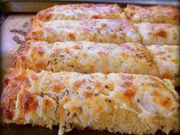 Cheesy Garlic Bread - 101 low carb recipes, worth looking into.