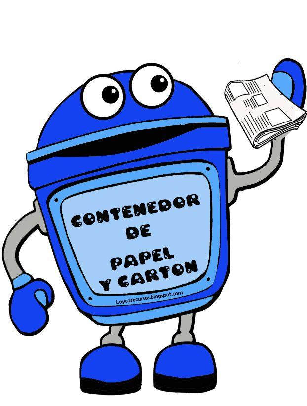 He elaborado estos carteles con los diferentes contenedores de reciclaje para colocarlos en la clase , el fin de que los niños aprendan a ut...