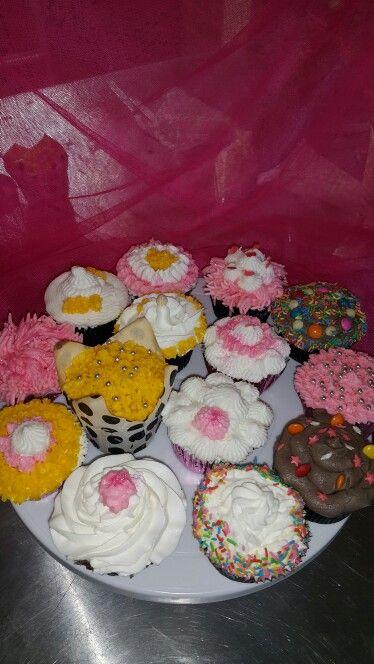 Fun with cupcakes decorating