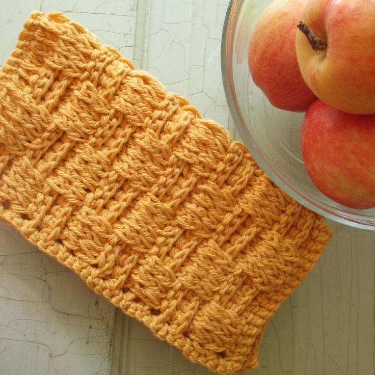 14 besten Dishcloth & Washcloth Patterns Bilder auf Pinterest ...