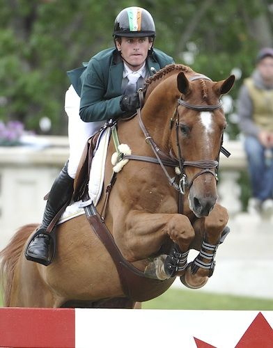Ireland's Darragh Kenny on San Souci Z - Furkusiyya FEI Nations Cup 2014 - Noelle Floyd