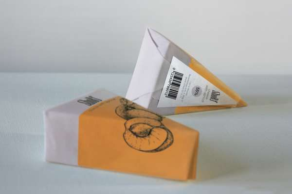 Form-Fitting Fromage Branding - Shorf Cheese Packaging Expresses Ingredient Honesty (GALLERY)