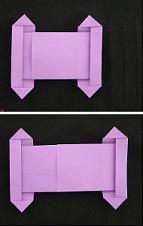 Simchat Torah sliding torah origami
