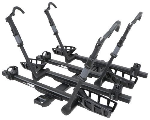 "Thule T2 Pro XTB 4 Bike Platform Rack - 2"" Hitches - Tilting - Black Thule Hitch Bike Racks TH9034XT-9036XT"