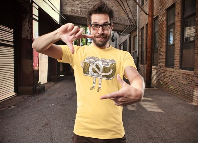 """Photographer"" - Threadless.com - Best t-shirts in the world"