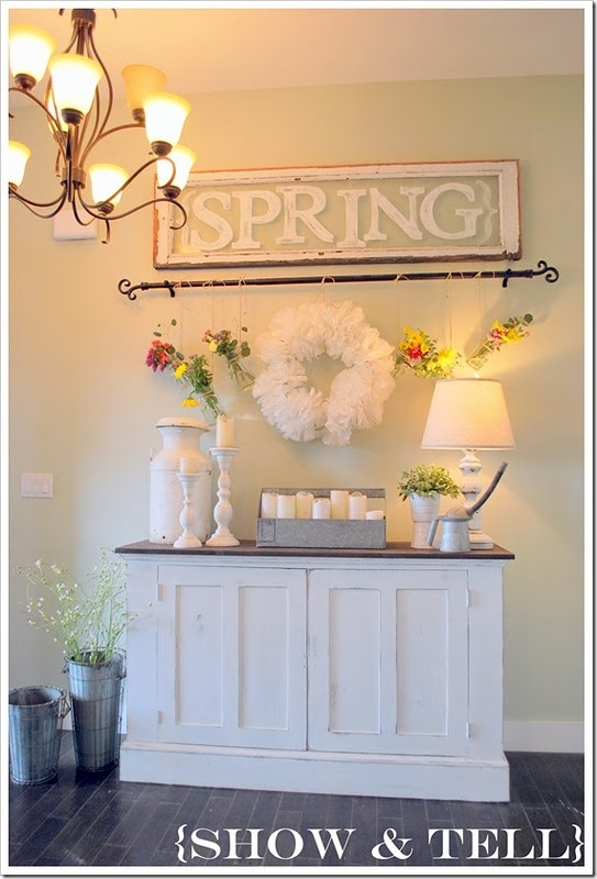 Spring: Decor Tips, Decor Ideas, Entryway Ideas, Curtains Rods, Entry Ways, Spring Entry, Old Window, Window Panes, Great Ideas