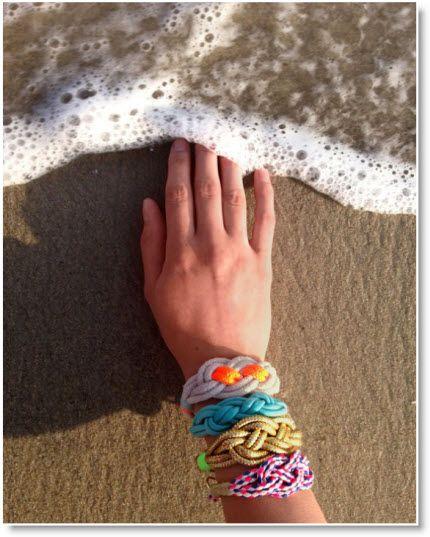 Nautical Knot Bracelets Tutorial