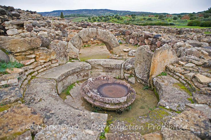 Sardinian Nuraghi, Su Nuraxi, Barumini, Sardinia, Italy