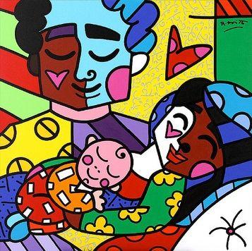 Arte Romero Britto / Ivete Raffa - Novaprint