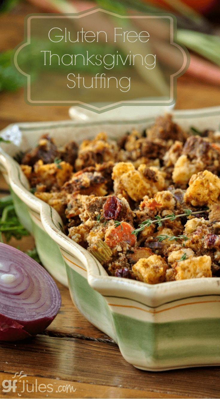 Gluten Free Thanksgiving Stuffing Recipe Gluten Free Stuffing Stuffing Recipes Stuffing Recipes For Thanksgiving