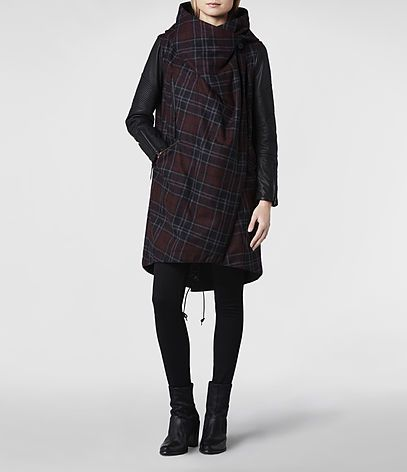 in love with this @ALLSAINTS coat