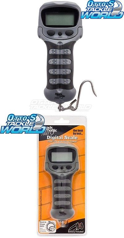 Scales 72667: Black Magic Digital Fishing Scale Brand New At Ottos Tackle World BUY IT NOW ONLY: $44.39