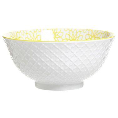 lemonMedium Geometric Bowl