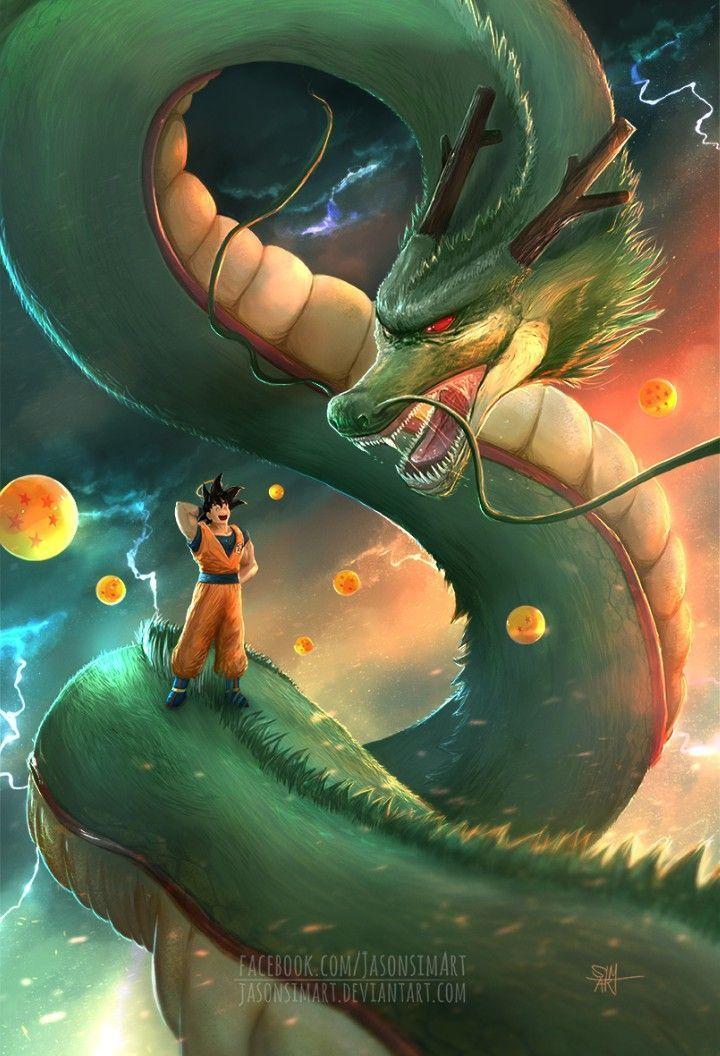 Shenron Wallpaper : shenron, wallpaper, Shenron,, Dragon, Goku,, Wallpapers,, Super
