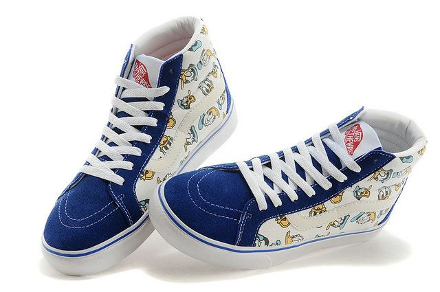 Disney Vans Vault Collection Sk8 Hi Donald Duck Canvas Sneakers [S14062008] - $58.00 : Vans Shop, Vans Shop in California