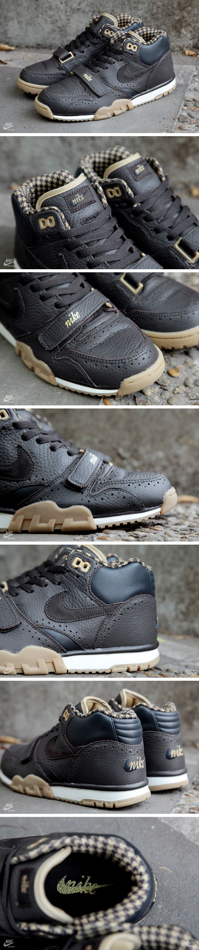 """Nike Air Trainer 1 Mid """"Houndstooth"""" (Detailed Pictures)"""
