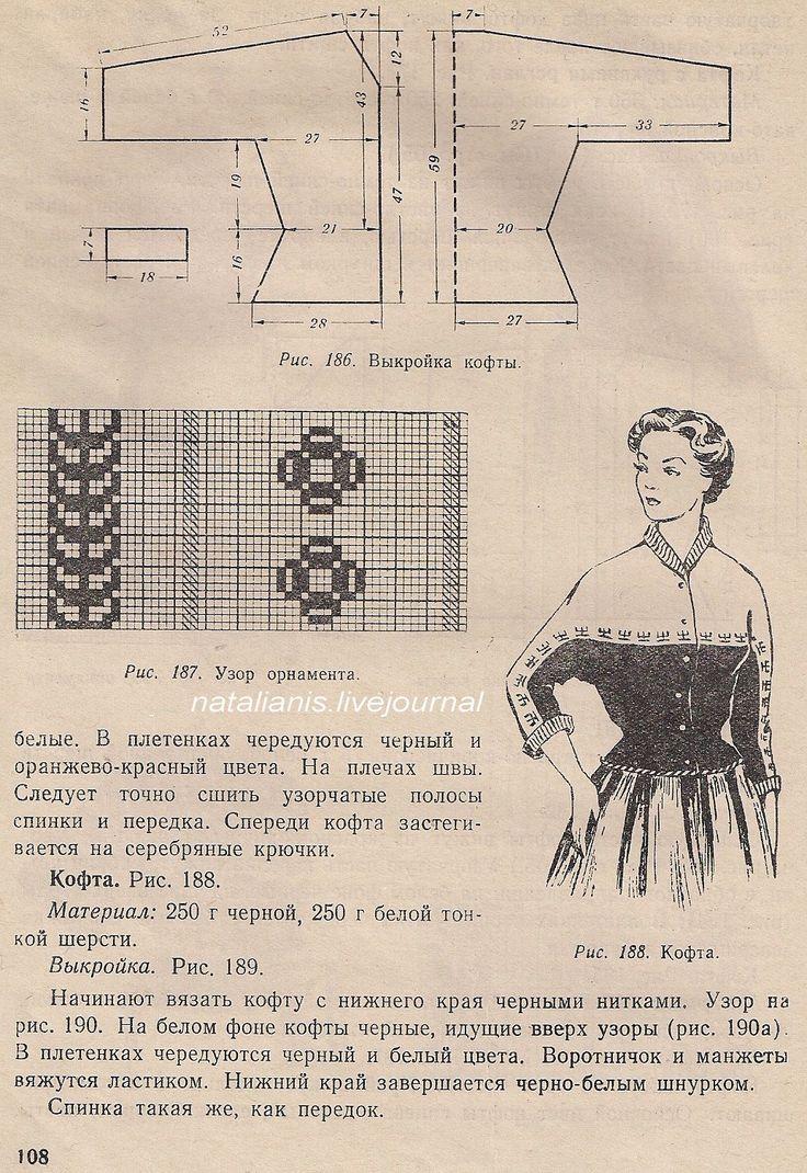 Моя капля в море информации по вязанию, вышивке, рукоделию из старых книг и журналов разных стран