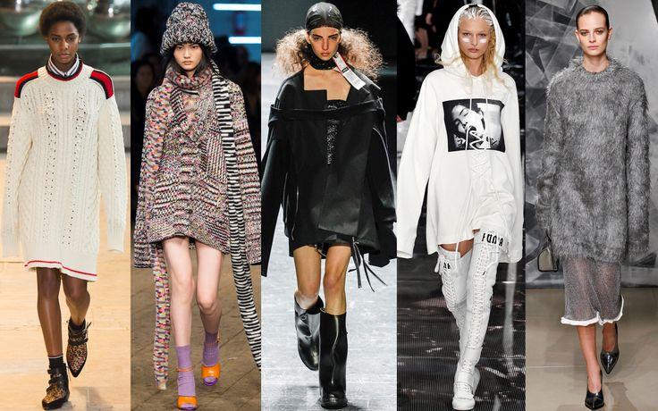 Maglioni, giacche e felpe scelgono la comodità di maniche extra lunghe
